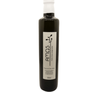 Amos Huile d'olive vierge extra 50cl– Non filtrée