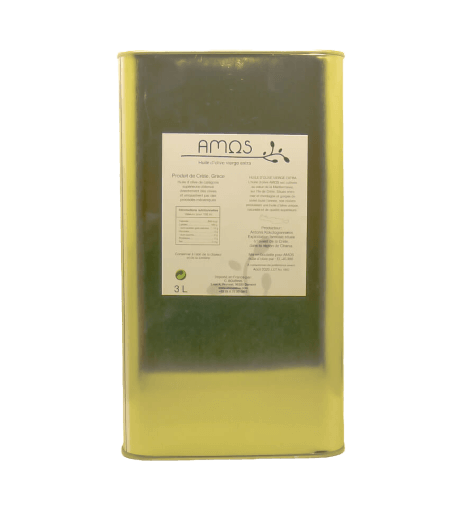 Amos Huile d'olive vierge extra 3L